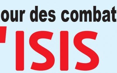 le retour des combattants d'ISIS  confond les comptes des pays
