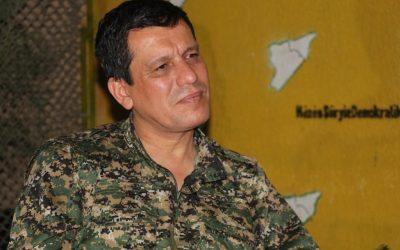 """Mazloum Abdi : Le déploiement de l'armée syrienne dans le nord de la Syrie s'est déroulé selon des """"arrangements"""" et non pas un accord complet. Nous avons besoin d'un accord politique pour l'avenir de la région."""