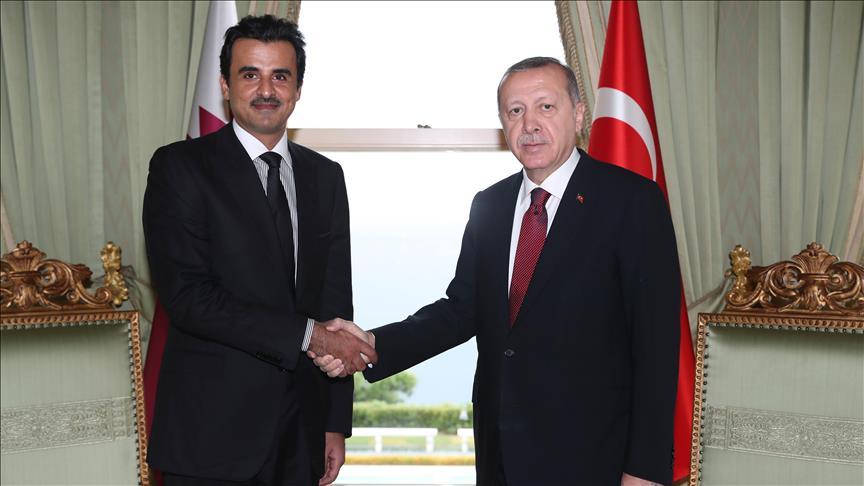 Intersection des relations Turco-Qatarienne… Consolidation de leurs gains économiques et stratégiques et leur soutien au terrorisme et à l'extrémisme dans le monde.