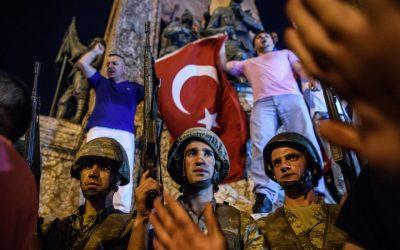 Les turques descendront-t-ils pour protéger à nouveau Erdogan en cas de nouveau coup d'État?