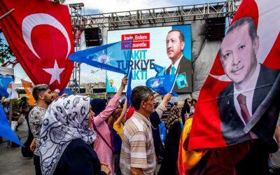 La Baisse de la popularité d'Erdogan et de son parti en Turquie