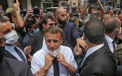 Macron au Liban … comme partisan du changement et gardien des intérêts français