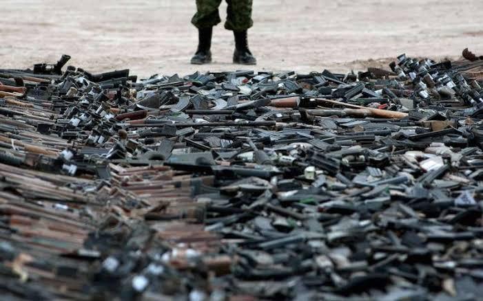 Trafic d'armes en France